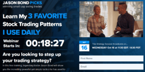 Jason Bond's three stock patterns