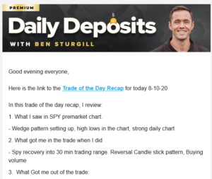 Ben Sturgill Daily Deposits Reviewed
